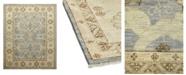 "Timeless Rug Designs One of a Kind OOAK1112 Denim 9'4"" x 12'8"" Area Rug"