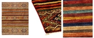 "Timeless Rug Designs CLOSEOUT! One of a Kind OOAK1141 Caramel 3'9"" x 6'2"" Area Rug"