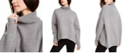 French Connection Nian High-Low Turtleneck Sweater