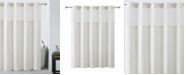 Hookless Silver Lux Shower Curtain with Peva Liner