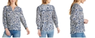 Lucky Brand Sophie Popover Top