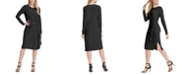 DKNY Side-Knot Knee-Length Dress