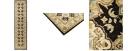 """Timeless Rug Designs CLOSEOUT! One of a Kind OOAK892 Onyx 2'10"""" x 11'7"""" Runner Rug"""
