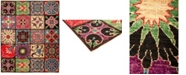 """Timeless Rug Designs CLOSEOUT! One of a Kind OOAK1278 Red 8'1"""" x 9'10"""" Area Rug"""