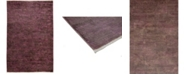 """Timeless Rug Designs One of a Kind OOAK3737 Plum 5'9"""" x 8'1""""0 Area Rug"""