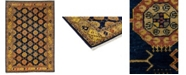 """Timeless Rug Designs CLOSEOUT! One of a Kind OOAK3615 Caramel 5'8"""" x 8'3"""" Area Rug"""