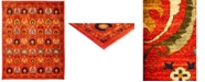"""Timeless Rug Designs CLOSEOUT! One of a Kind OOAK3220 Red 8'10"""" x 11'1"""" Area Rug"""