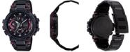 G-Shock Men's Solar Black Stainless Steel Bracelet Watch 51.7mm