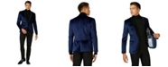 OppoSuits Deluxe Men's Deep Blue Dinner Jacket Christmas Blazer