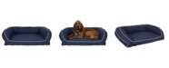 Carolina Pet Company Orthopedic Classic Canvas Bolster Bed Collection