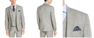 Lauren Ralph Lauren Men's Classic-Fit UltraFlex Stretch Gray Windowpane Suit Jacket