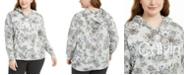 Calvin Klein Plus Size Printed Hoodie