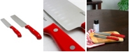 Oster Evansville 2 Piece Nakiri Knife Set with Handles