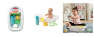 Melissa and Doug Melissa Doug Mine to Love Baby Doll Bathtub and Accessories Set 6 pcs - White