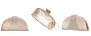 Nina Bijou Half-Moon Crystal Embellished Clutch