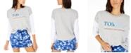 Tommy Hilfiger Logo-Print Contrast-Sleeve Sweatshirt, Created for Macy's