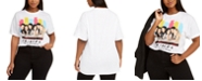 Love Tribe Hybrid Trendy Plus Size Friends Group Shot T-Shirt, Created For Macy's