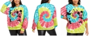 Modern Lux Trendy Plus Size Disney Mickey Mouse Tie-Dyed Sweatshirt