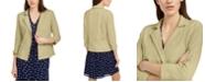 Maison Jules 3/4 Sleeve Knit Blazer, Created for Macy's