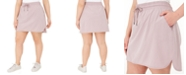 Ideology Plus Size Drawstring Skort, Created for Macy's