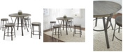 Steve Silver Lavonna 5-Pc. Counter Dining Set, (Counter Table & 4 Stools)