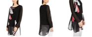 Alfani Printed Tunic Top, Created for Macy's
