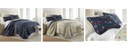 Southshore Fine Linens Boho Bloom Duvet Cover and Sham Set, King
