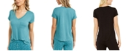 Alfani Super-Soft Knit Pajama Top, Created for Macy's