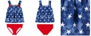 Carter's Baby Girls 2-Pc. Red, White & Blue Swimsuit