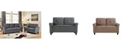Us Pride Furniture Glasser Loveseat