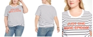 Mighty Fine Trendy Plus Size Just One More Episode Graphic T-Shirt