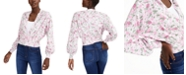 INC International Concepts INC Printed Cardigan Sweater, Created for Macy's