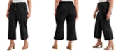 INC International Concepts INC Plus Size Button-Front Culotte Pants, Created for Macy's