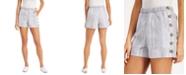 Derek Heart Juniors' Side-Button Shorts