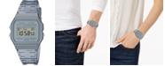 Casio Unisex Digital Smoke Jelly Strap Watch 35.2mm