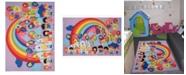 """Fun Rugs Fun Time Educational Balloons 19"""" x 29"""" Area Rug"""