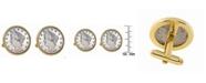 American Coin Treasures 1800's Liberty Nickel Bezel Coin Cuff Links