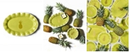 Coton Colors Pineapple Oval Platter