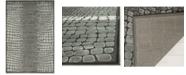 """Martha Stewart Collection MSR74304 Onyx 3'3"""" x 5'3"""" Area Rug"""