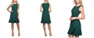 Tommy Hilfiger Ruffle-Hem Fit & Flare Dress
