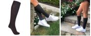 Love Sock Company Women's Super Soft Organic Cotton Seamless Toe Knee High Boot Socks
