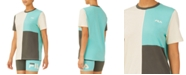 Fila Noor Cotton Colorblocked Boyfriend T-Shirt