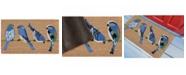 Liora Manne' Liora Manne Natura Birds l Neutral 2' x 3' Area Rug
