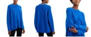 Eileen Fisher Solid Raglan Mock-Neck Top