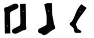 Love Sock Company Men's Over The Calf Dress Socks