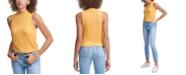 Calvin Klein Jeans Sleeveless Mock Neck Top