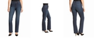 Gloria Vanderbilt Women's Relaxed Straight Long Length Jeans