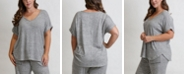 COIN 1804 Women's Plus Size Cozy Tee
