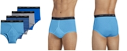 Jockey Men's Classic Collection Full-Rise Briefs 4-Pack
