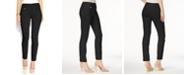 Alfani Petite Tummy-Control Pull-On Skinny Pants, Created for Macy's